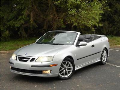 9-3 Aero Convertible Rare 6 Speed Manual Clean Carfax! 2004 Saab 9-3 Aero Convertible Rare 6 Speed Manual Clean Carfax Must Sell!