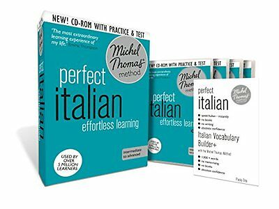 Perfect Italian: Revised (Learn Italian with the Michel Thomas Method) (A Hodder