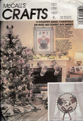 Mccall's Crafts Sewing Pattern #4398 A Country Angel Christmas