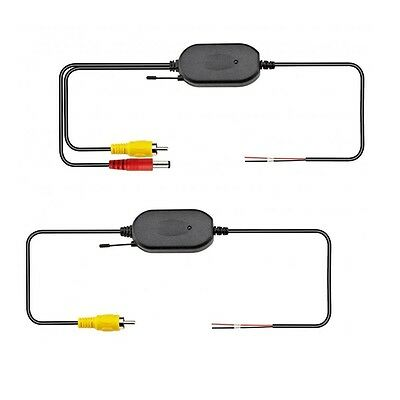 2.4G Wireless Transmitter Receiver Kit For Car Rear View Backup Camera Monitor