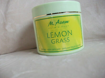 "M ASAM - Bath & Body ""LEMONGRASS"" - Body-Peeling 600 Gramm originalverpackt"