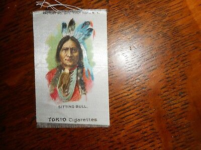 Tokio Cigarettes antique tobacco silk with native, Sitting Bull