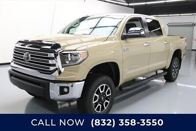 Toyota Tundra Limited Texas Direct Auto 2018 Limited Used 5.7L V8 32V Automatic 4X4 Pickup Truck
