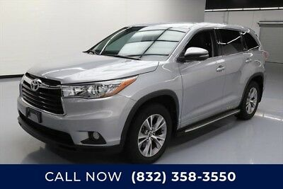 Toyota Highlander LE Plus 4dr SUV Texas Direct Auto 2016 LE Plus 4dr SUV Used 3.5L V6 24V Automatic FWD SUV