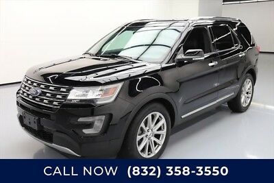 Ford Explorer Limited Texas Direct Auto 2017 Limited Used 3.5L V6 24V Automatic FWD SUV Premium