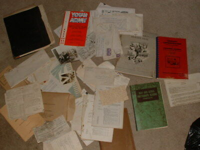 20 WW2 Handwritten letters to Mom 1942-43 WORLD WAR II MAUALS PAPERS ETC.