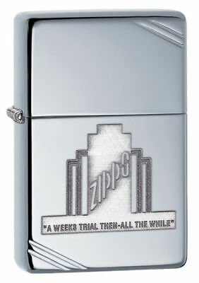 Zippo Lighter 28451 A Weeks Trial    New In Box