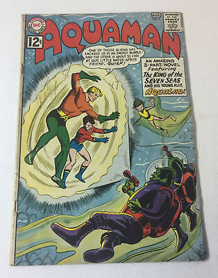 1962 DC Comics ~ AQUAMAN #4