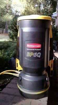 RUBBERMAID BACKPACK VACUUM BP6Q COMMERCIAL GRADE Multiple available