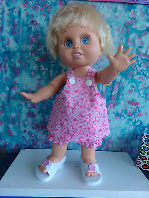 Galoob Baby Face Doll So Innocent Cynthia In Designer Outfit And Sandals