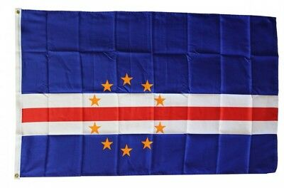 CAPE VERDE FLAG 3 x 5 '  FLAG - NEW 3X5 INDOOR OUTDOOR COUNTRY FLAG -lower price
