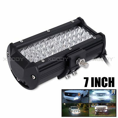 "7""INCH CREE 144W LED Work Light Bar Spot Flood Combo Driving Lamp 4WD SUV UTE US"