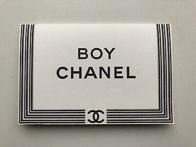 Boy Chanel promo pack with DVD postcards excellent condition 2012 bag