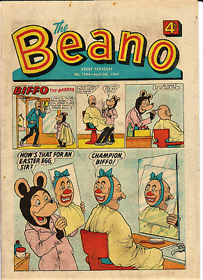 BEANO  # 1394 April 5th 1969 Easter issue the comic