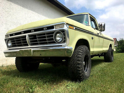 Ford F100 F150 F250 F350 Highboy 4x4 Bigblock V8 Longbed Farm Pickup aus Texas