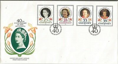 Arcade 50p A Nice Guernsey 1992 Anniversary Accession FDC