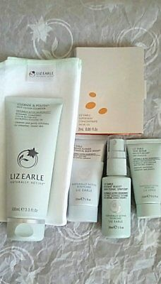 Liz Earle Superskin Trial / Try Me Cleans & Polish, Tonic, Oil & Moisturiser