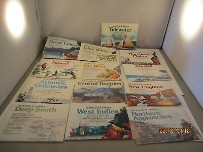 National Geographic Magazine Society Assortment of Maps #2 Making of America