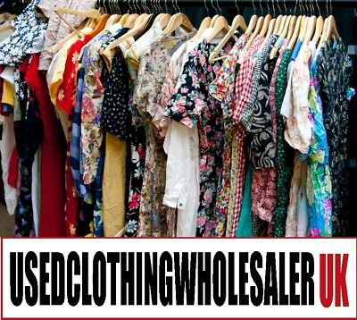 40Kg Of Women's Vtg Clothing And Accessories Mix Of Eras Wholesale Joblot
