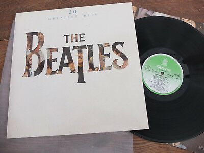 The Beatles 20 Greatest Hits Odeon Club Edition LP Vinyl