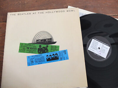 The Beatles at the Hollywood Bowl 1977 EMI LP Vinyl