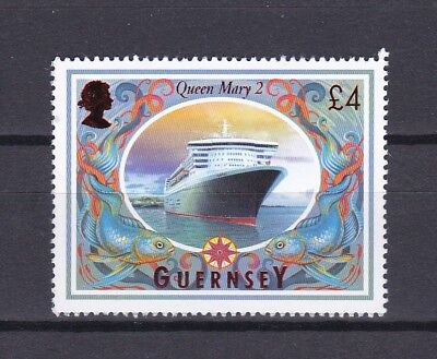 Guernsey 1998 £4.00 Ships Definative Below Face Value (6) Mint Never Hinged