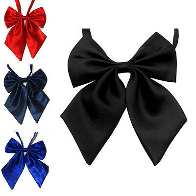 Women Lady Girls Butterfly Bowtie Silk Bow Ties Formal Bow Tie New Fashion FG