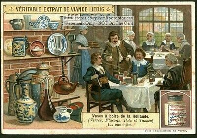 Holland Dutch  Drinking Vessels Urns Vases Vases A Boire 1903 Trade Ad Card f