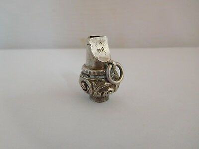 19Th Century Solid Silver Whistle