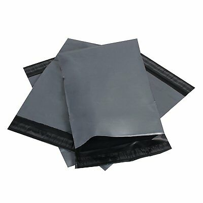 Grey Mailing Bags Self Seal Strong Poly Postal Mailers 4x6 6x9 10x14