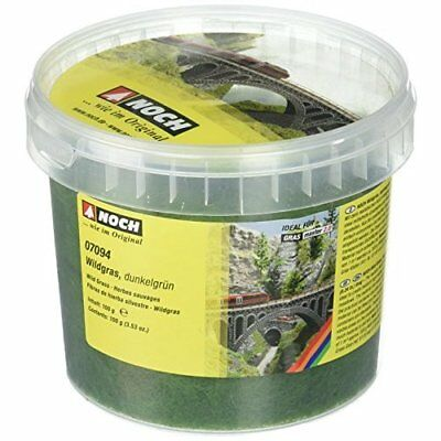 Noch 07094 6 mm Wild Grass Dark Green Landscape Modelling