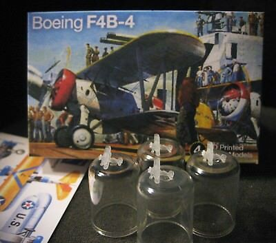 1/700 Boeing F4B-4 - (x4) 3D Printed - Classic 1930's US Navy Fighter!!