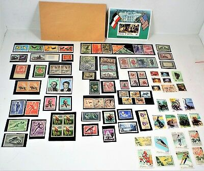 Africa 102 Stamp Lot Set Algeria Congo Kenya Uganda Chad Liberia Air Mail - MNH