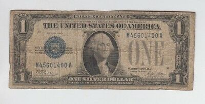 Silver Certificate $1 1928-A Funny Back lower grade