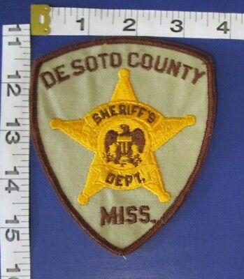 Desoto County  Mississippi Sheriff's Dept Shoulder Patch