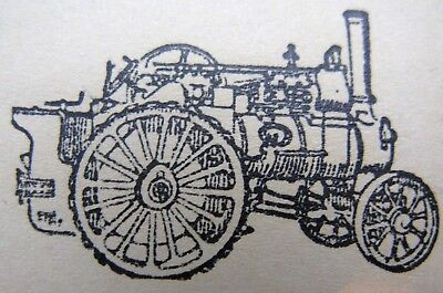 Letterpress printing blocks - Steam Engines (3)