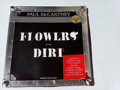 PAUL McCARTNEY - THE BEATLES - Flowers in the dirt - World Tour Pack