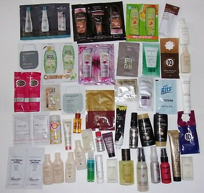 Big Lot Mixed Brands of Hair Care Samples Travel Size Items Shampoo Conditioner