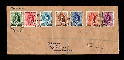 Swaziland  Gvi  Multi  Stamp  Cover  To  White  River  Transvaal.