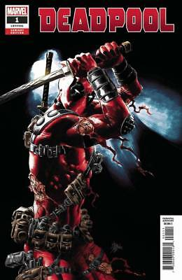 Deadpool #1 1:25 Mike Deodato Variant Marvel Nm