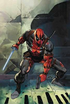 Deadpool #1 1:25 Rob Liefeld Variant Marvel Nm