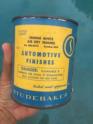 Studebaker Paint Can