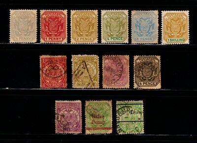 Transvaal  Mint  And  Used  Collection.        Trans 2