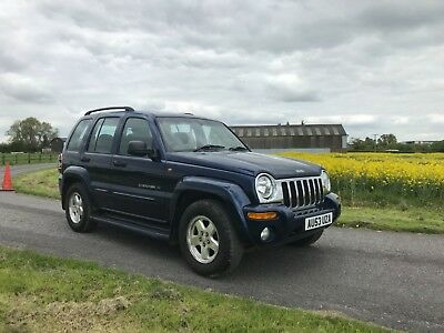 Jeep Cherokee 2.8 CRD Limited Auto low mileage 76k History 12 months MOT