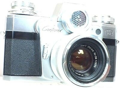 ZEISS IKON CONTAREX 'BULLSEYE' Camera With Carl Zeiss Planar 50mm f/2 Lens - R36