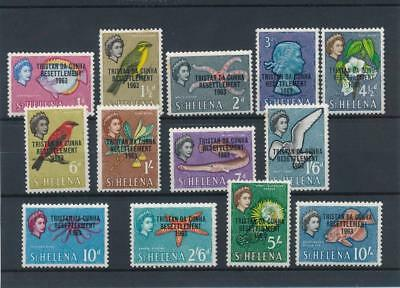 [5338] Tristan Cunha 1963 good set very fine MNH stamps