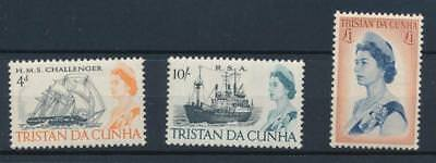 [5343] Tristan Cunha 1967 boats good set very fine MNH stamps value $75