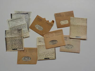 12 WWII V-Mail Letters Servicemen World War Two Lot VTG WW II Military Old WW2