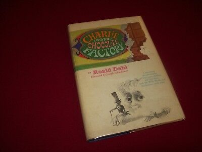 Charlie and the Chocolate Factory ~ Roald Dahl (1964) 1st Ed. Rare Blue Variant