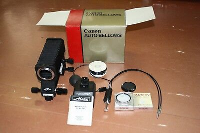 Canon Auto Bellows Vintage Metz Flash Group Old New Filters